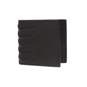 Alexander McQueen rib cage wallet