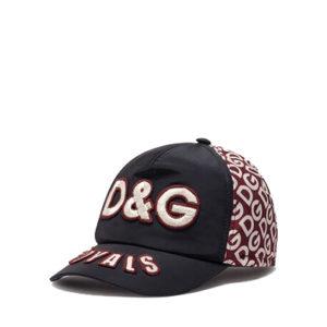Dolce Gabbana- NYLON BASEBALL CAP WITH DG LOGO PRINT