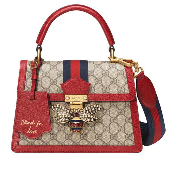 b833d1e0c Gucci: Queen Margaret GG Small Bag | Shopper's Alley