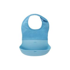 OXO Tot Waterproof Silicone Roll Up Bib, $12.99,